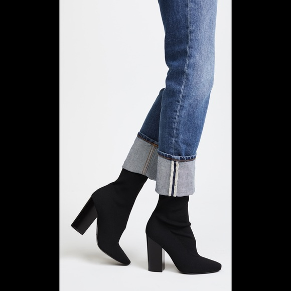 Kendall & Kylie Hailey 2 Ribbed Knit Bootie